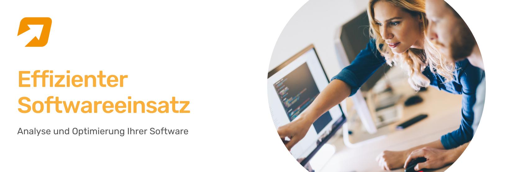 Effizienter Softwareeinsatz